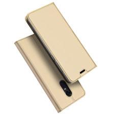 Dux Ducis Xiaomi Redmi 5 Plus arany flip tok 1