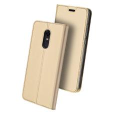 Dux Ducis Xiaomi Redmi 5 Plus arany flip tok 2