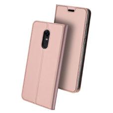 Dux Ducis Xiaomi Redmi 5 Plus rózsaarany flip tok 2