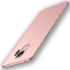 Mofi Samsung Galaxy S9 rózsaarany pc tok