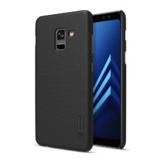 Nillkin Super Frosted Samsung Galaxy A8 2018 fekete PC tok 2