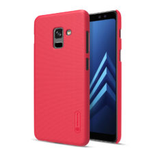 Nillkin Super Frosted Samsung Galaxy A8 2018 piros PC tok 2