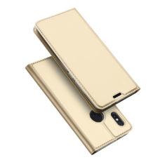 Dux Ducis Xiaomi Redmi Note 5 arany flip tok 1