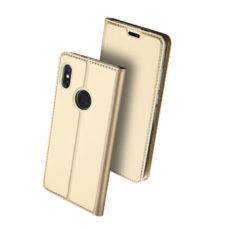 Dux Ducis Xiaomi Redmi Note 5 arany flip tok 2