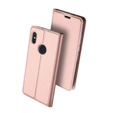 Dux Ducis Xiaomi Redmi Note 5 rózsaarany flip tok 2