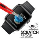Apple Watch 3D üvegfólia fekete kerettel 3