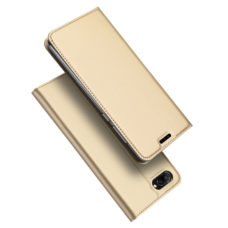 Dux Ducis Huawei Honor 10 arany flip tok 1