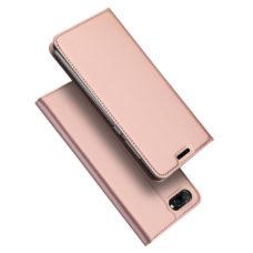 Dux Ducis Huawei Honor 10 rózsaarany flip tok 1