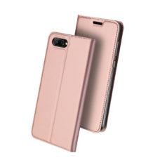 Dux Ducis Huawei Honor 10 rózsaarany flip tok 2