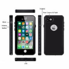 Apple iPhone 7 fekete vízálló tok 2