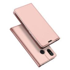 Dux Ducis Xiaomi Mi A2 Lite rózsaarany flip tok 1