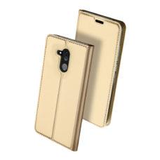 Dux Ducis Huawei Mate 20 Lite arany flip tok 2