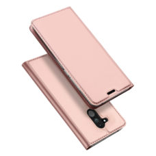 Dux Ducis Huawei Mate 20 Lite rózsaarany flip tok 1