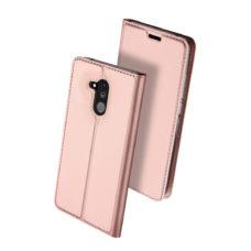 Dux Ducis Huawei Mate 20 Lite rózsaarany flip tok 2
