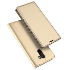Dux Ducis Xiaomi Pocophone F1 arany flip tok 1