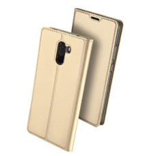 Dux Ducis Xiaomi Pocophone F1 arany flip tok 2