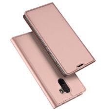 Dux Ducis Xiaomi Pocophone F1 rózsaarany flip tok 1