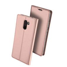 Dux Ducis Xiaomi Pocophone F1 rózsaarany flip tok 2