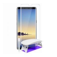 Teljes UV ragasztós kameravédős tok kompatibilis 3D üvegfólia kiegészítők 1