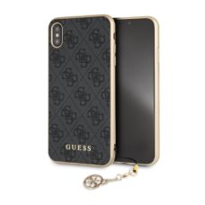 Apple iPhone XS Max Guess 4G Charms szürke pc tok