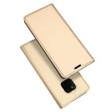 Dux Ducis Huawei Mate 20 Pro arany flip tok 1