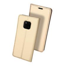 Dux Ducis Huawei Mate 20 Pro arany flip tok 2