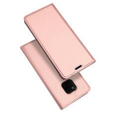 Dux Ducis Huawei Mate 20 Pro rózsaarany flip tok 1