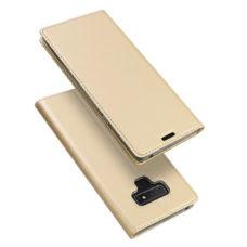 Dux Ducis Samsung Galaxy Note 9 arany flip tok 1