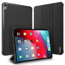 Dux Ducis Domo Apple iPad Pro 2018 fekete tablet bőrtok 1
