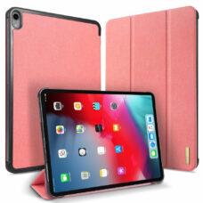 Dux Ducis Domo Apple iPad Pro 2018 rózsaszín tablet bőrtok 1