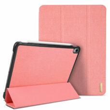 Dux Ducis Domo Apple iPad Pro 2018 rózsaszín tablet bőrtok 2