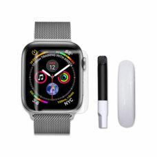 Apple Watch teljes uv ragasztós okosóra 3D üvegfólia tartozékok