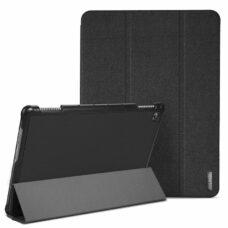 Dux Ducis Domo Huawei MediaPad M5 Lite fekete tablet bőrtok 2