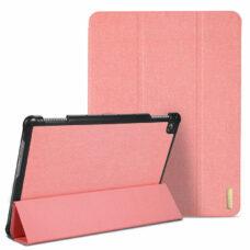 Dux Ducis Domo Huawei MediaPad M5 Lite rózsaszín tablet bőrtok 2