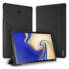 Dux Ducis Domo Samsung Galaxy Tab A fekete tablet bőrtok 1