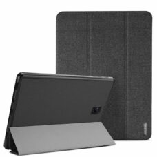 Dux Ducis Domo Samsung Galaxy Tab A fekete tablet bőrtok 2