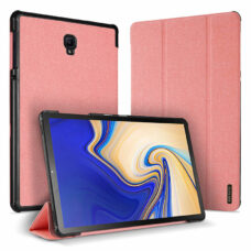 Dux Ducis Domo Samsung Galaxy Tab A rózsaszín tablet bőrtok 1