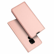 Dux Ducis Huawei Mate 20 rózsaarany flip tok 1