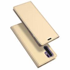 Dux Ducis Huawei P30 Pro arany flip tok 1