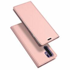 Dux Ducis Huawei P30 Pro rózsaarany flip tok 1