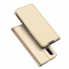 Dux Ducis Huawei P30 arany flip tok 1