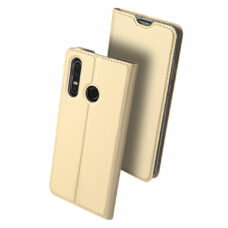 Dux Ducis Huawei P30 Lite arany flip tok 2