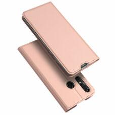 Dux Ducis Huawei P30 Lite rózsaarany flip tok 1