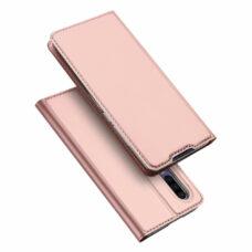Dux Ducis Huawei P30 rózsaarany flip tok 1