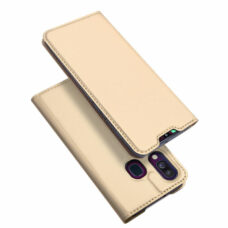 Dux Ducis Samsung Galaxy A40 arany flip tok 1
