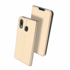 Dux Ducis Samsung Galaxy A40 arany flip tok 2