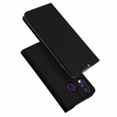 Dux Ducis Samsung Galaxy A40 fekete flip tok 1