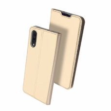 Dux Ducis Samsung Galaxy A50 arany flip tok 2