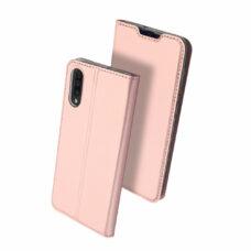 Dux Ducis Samsung Galaxy A50 rózsaarany flip tok 2
