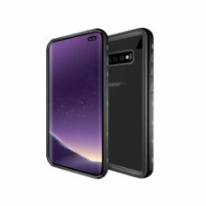 Redpepper Samsung Galaxy S10 Plus fekete vízálló tok 1